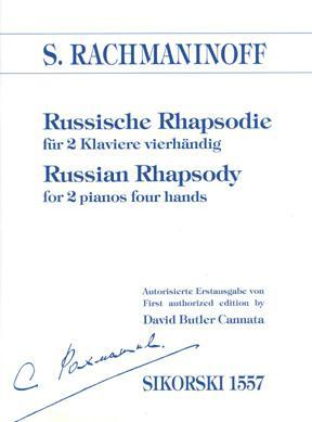 Picture of Sheet music for 2 pianos 4 hands by Sergei Rachmaninov