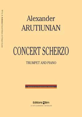 Picture of Sheet music for trumpet and piano by Alexander Arutiunian