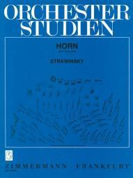 Picture of Sheet music for french horn solo by Igor Stravinsky