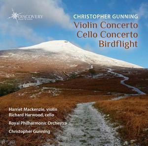 Picture of Gunning, Christopher : Violin Concerto, Cello Concerto, Birdflight Artist: Richard Harwood and Harriet Mackenzie