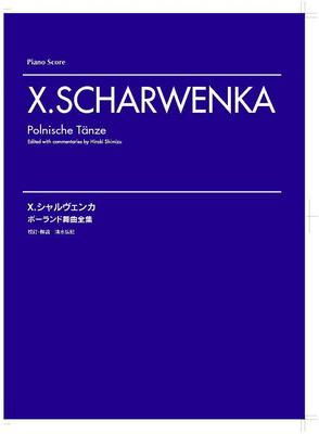 Picture of Sheet music for piano solo by Xaver Scharwenka
