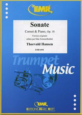 Picture of Sheet music for trumpet and piano by Thorvald Hansen