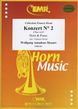 Picture of Sheet music for french horn and piano by Wolfgang Amadeus Mozart