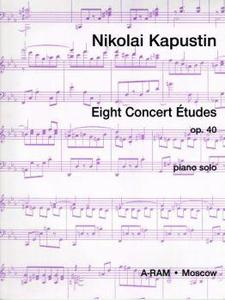 Picture of Sheet music  for piano (english text). **SPECIAL OFFER - LIMITED PERIOD ONLY ** Sheet music for piano solo by Nikolai Kapustin