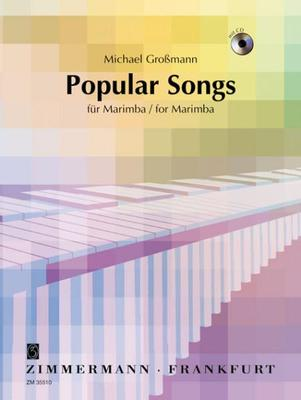 Picture of Sheet music  by Album of composers. Sheet music for marimba with CD accompaniment