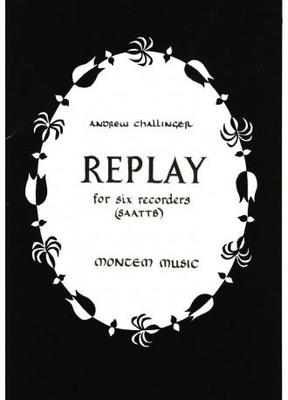 Picture of Sheet music  for recorder ensemble. Sheet music for recorders (SAATTB) by Andrew Challinger