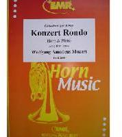 Picture of Sheet music for french horn in Eb or F and piano by Wolfgang Amadeus Mozart