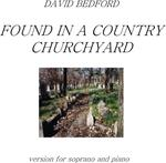 Picture of Sheet music  by David Bedford. Setting of 'forced rhyme' epitaphs for soprano and piano.