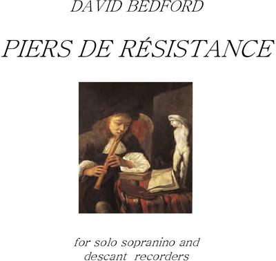 Picture of Sheet music  by David Bedford. A solo piece for descant and sopranino recorder.
