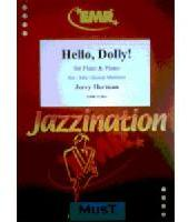 Picture of Sheet music for flute and piano by Jerry Herman