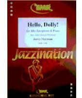 Picture of Sheet music for alto saxophone and piano by Jerry Herman