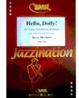 Picture of Sheet music for tenor saxophone and piano by Jerry Herman