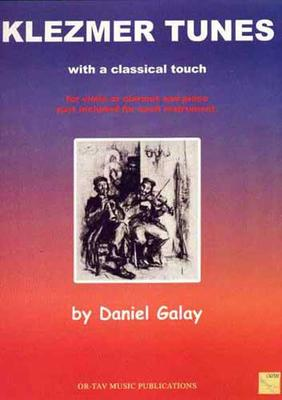 Picture of Sheet music for violin or clarinet and piano by Daniel Galay