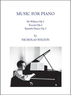 Picture of Sheet music  by Nicholas Wilton. Score of Music for Piano together withhte CD recorded by Alexei Knupffer.