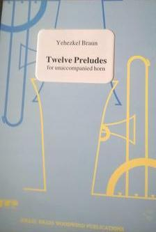 Picture of Sheet music for french horn solo by Yehezkel Braun