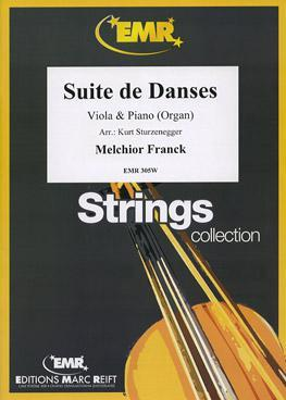 Picture of Sheet music for viola and piano by Melchior Franck