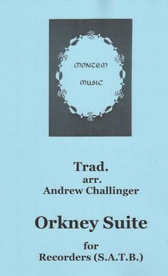 """Picture of Four tunes from a nineteenth-century collection of """"Ancient Orkney Melodies"""" in simple arrangements for SATB recorder quartet."""