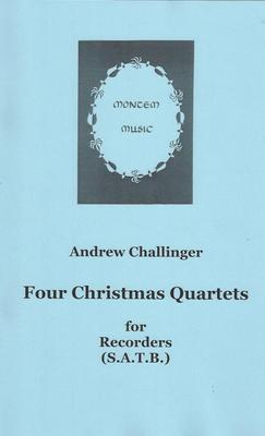 Picture of Sheet music  for descant recorder, treble recorder, tenor recorder and bass recorder by Various. Familiar tunes in unfamiliar versions for SATB recorder quartet. The carol tunes provide the  starting points for free invention.
