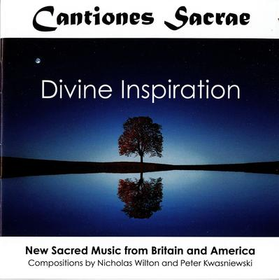 Picture of CD of sacred choral music by Nicholas Wilton and Peter Kwasniewski, performed by Cantiones Sacrae
