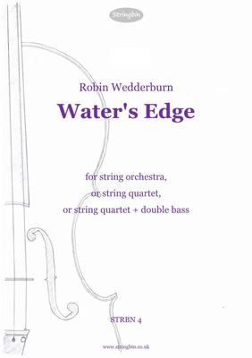 Picture of Sheet music  for violin, violin, viola, cello and double bass by Robin Wedderburn. A short, reflective piece for players of intermediate skill.