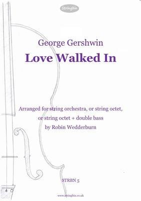 Picture of Sheet music  for violin, violin, violin, violin, viola, viola, cello and cello. A rich setting of a Gershwin classic.