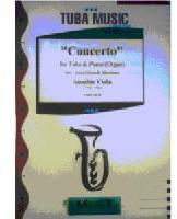 Picture of Sheet music for tuba and piano or organ by Anselm Viola