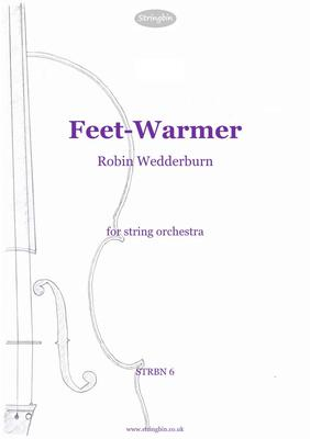 Picture of Sheet music  for violin, violin, viola, cello and double bass by Robin Wedderburn. An energetic workout for frosty days.