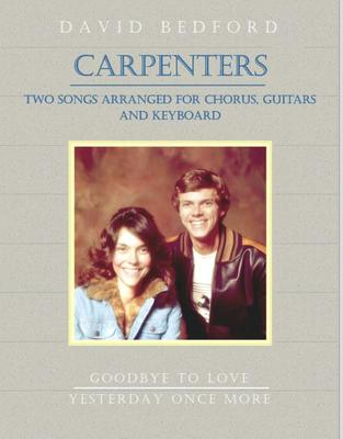 Picture of Two arrangements of Carpenters songs for chorus, guitars and keyboard by David Bedford
