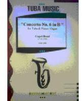 Picture of Sheet music for tuba and piano or organ by Chapel Bond
