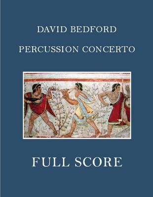Picture of Sheet music  for french horn, oboe, violin, viola, cello, double bass and percussion. Full score and parts for a percussion concerto by David Bedford. Duration 22 mins