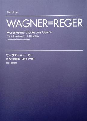 Picture of Sheet music for 2 pianos 4 hands by Richard Wagner, arranged by Max Reger
