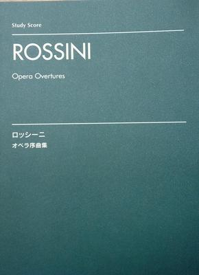 Picture of Sheet music for orchestra by Gioacchino Rossini (study score only)