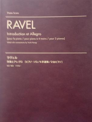 Picture of Sheet music for piano solo, piano duet and 2 pianos 4 hands by Maurice Ravel