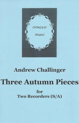 Picture of Sheet music  by Andrew Challinger. The third in a series of seasonal duets for recorders. This one is for descant and treble. Each piece explores a distinctive rhythm pattern. Not particularly hard but will need some work on the ensemble.