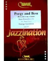 Picture of Sheet music  for 4 trumpets, french horn, 4 trombones, tuba and percussion. Sheet music for brass tentet and percussion by George Gershwin
