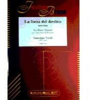 Picture of Sheet music  for 2 trumpets (bb/c); french horn (eb/f); trombone (bc/tc) or euphonium; trombone, euphonium or tuba (c/eb). Sheet music for brass quintet by Giuseppe Verdi
