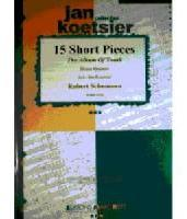 Picture of Sheet music  for 2 trumpets (Bb/C), french horn, trombone and tuba. Sheet music for brass quintet by Robert Schumann